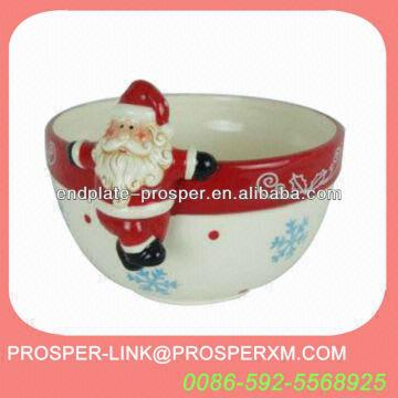 2013 ceramic christmas candy bowl china 2013 ceramic christmas candy bowl - Christmas Candy Dishes
