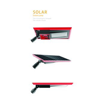 China Solar street light, China and the US invention patent certificates have been awarded