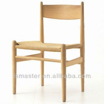 China Replica Solid Wood Simple Dining Chair Hans J Wegner Ch36 Wooden