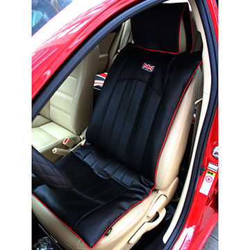 Pu Pvc Leather Car Seat Cushion Double Cushion With U K Flag