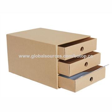 China Desktop Drawers Storage Box For