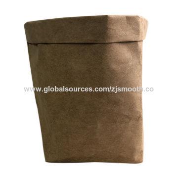 China Kraft Paper Bags Washable Trash
