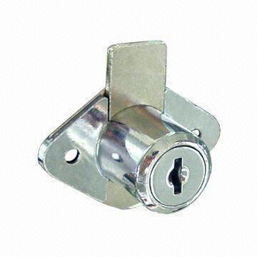 China Chrome Plated Furniture Lock For Wooden Cabinet