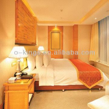 China Hotel Modern Bedroom Furniture Set Birch Wood