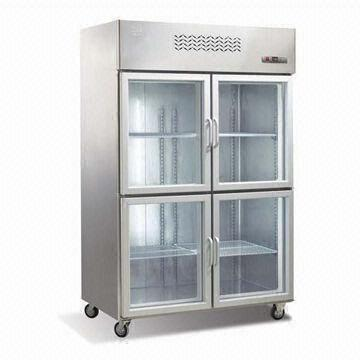 Upright Freezer For Display With 4 Glass Doors Global Sources