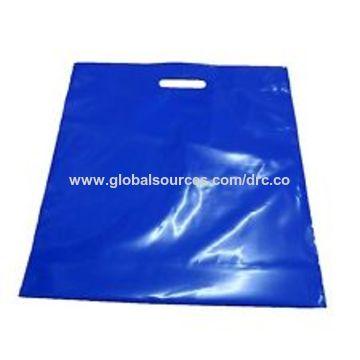 China Shopping plastic bag 100% ink