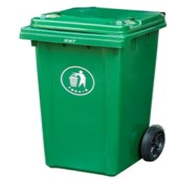 120l plastic wheeled recycle trash can garbage bin with lid global