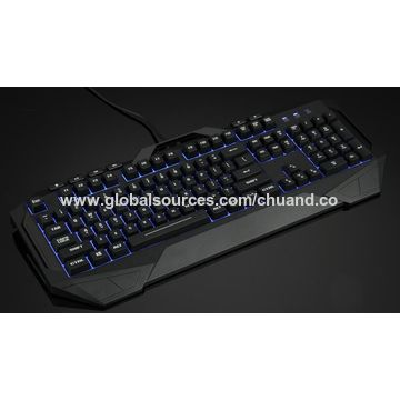 China Gaming Mechanical Keyboard with 7-color Breath LED