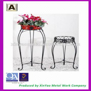 Iron flower pot stands metal flower stand wedding decoration flower china iron flower pot stands metal flower stand wedding decoration flower stand fs09008 junglespirit Image collections