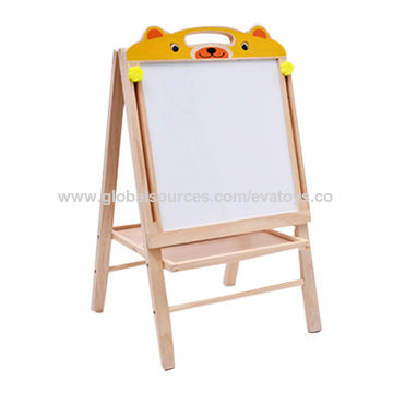 china good quality wooden painting board stand for kids on global