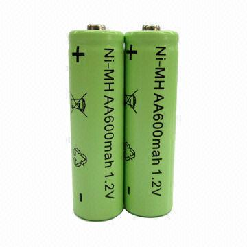 1 2v Aa Ni Mh Rechargeable Batteries For Led Solar Garden