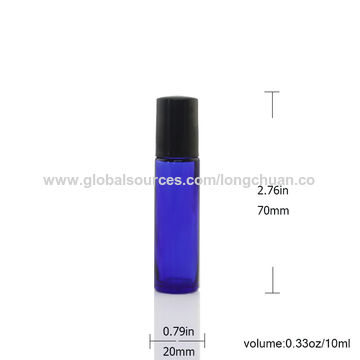 China Glass perfume roll-on bottle, 10mL
