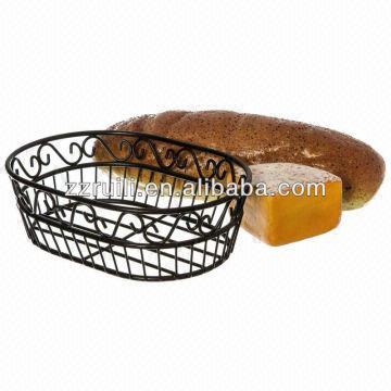... China Black Wire Basket/fruit Basket/bread Basket/storage Basket