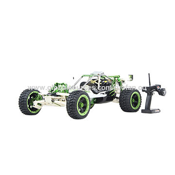 4-bolt Zenoah G320RC 32CC engine with silenced exhaust pipe | Global