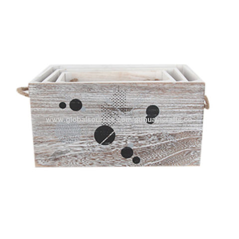 China Storage boxes, made of wooden without lid, suitable ...