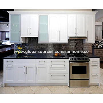 China Australia Style 2pac Satin Surface Complete Modern Kitchen Cabinet On Global Sources