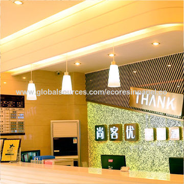 Special bamboo acrylic wall panel for enterprise image wall décor ...