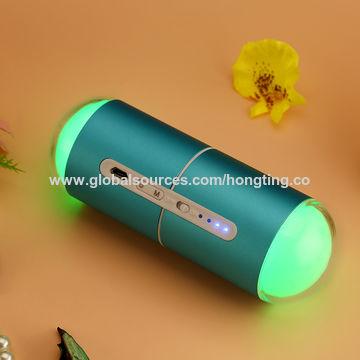 China Lucky Capsule Hand Warmer Power Bank + LED Light