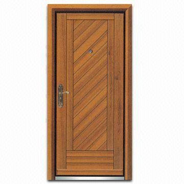 Steel Wooden Door with Stainless Steel Doorsill | Global Sources