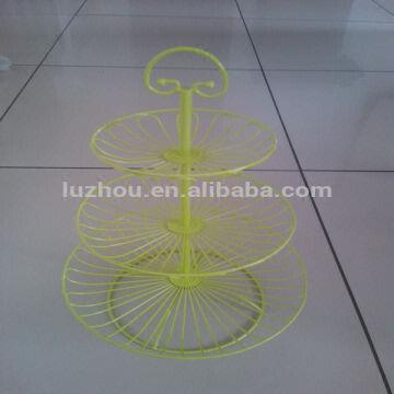 3 tier cake stand hardware fruit holder 1.easy to assemble 2.you can ...