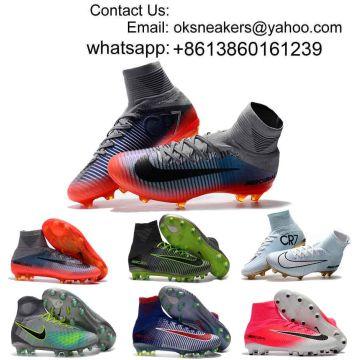 531deb7b783cd Wholesale magista obra ACC FG High Ankle Football Shoes Men Boy Mercurial  Superfly CR7 Soccer Cleats