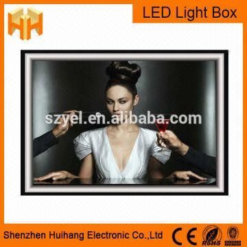 plexiglass led light box,led light ring box | Global Sources