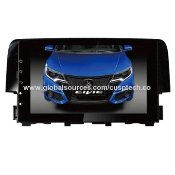 China New Car Gps Navigation System For Civic 2016 With Rds Ipod 3g