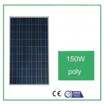 China Solar panel modules Poly-crystalline Silicon 150W