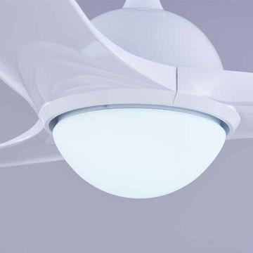 led lights with wave fan fans ceiling index light