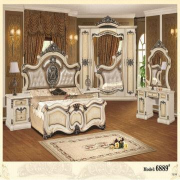 China New Design European Style Bedroom Furniture, Bedroom Furniture Set  with Discount Price On Sale