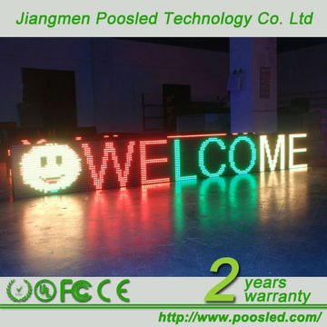 Outdoor LED Display - led programmable display board \ led