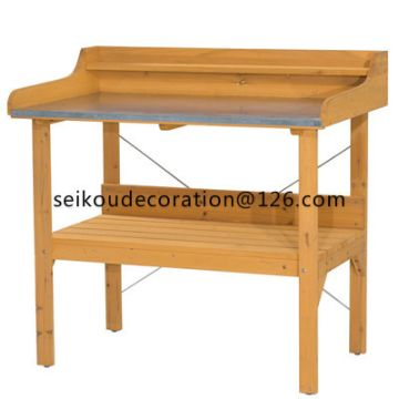 Astonishing Outdoor Garden Wood Workbench Station Global Sources Andrewgaddart Wooden Chair Designs For Living Room Andrewgaddartcom