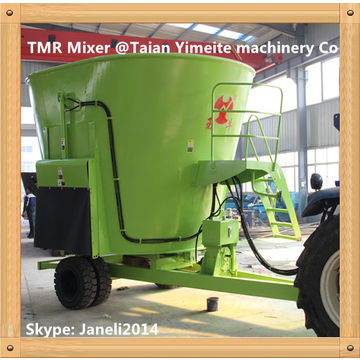 TMR vertical cattle feed mixer | Global Sources