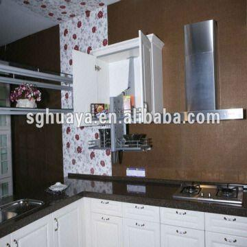 ... China Ready to assemble Kitchen Cabinet 1) Door:MDF and solid wood 2)