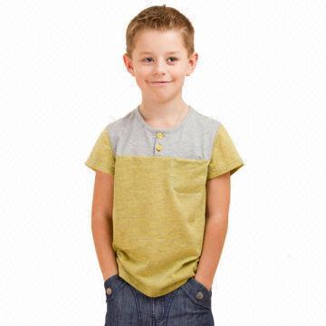 Summer Kids Wear Boys Casual T Shirt Children Clothing Bt 308s3