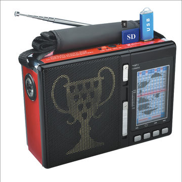 Bluetooth Portable Speaker Radio BASS PA System USB//SD 3 Band AM//FM//SW Radio