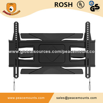 China Telescoping Tv Wall Mount For 32 60 Flat Panel With Load Capacity