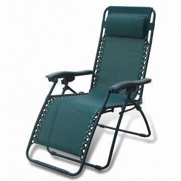 china textlilene recliner chair with headrest and 65cm width and