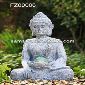 Large outdoor buddha garden water fountain materialresinpumpled china large outdoor buddha garden water fountain materialresinpumpled lights packed workwithnaturefo