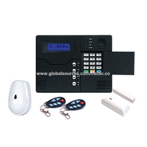gsm alarm system backup battery