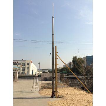 12m height aluminum pneumatic Telescoping Mast/ aluminum