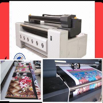 Digital textile lycra fabric clothes printing machine 1