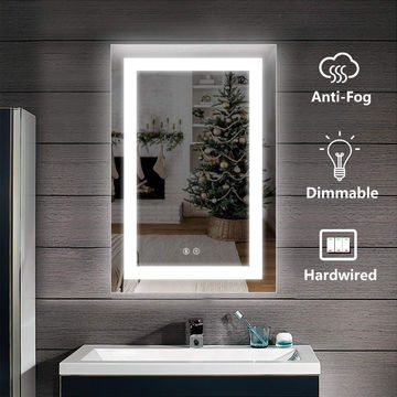 China Dimmable Led Backlit Bathroom Mirror On Global Sources Led Mirror Led Lighted Mirror Led Bathroom Mirror