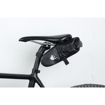 600D double side TPU waterproof bike saddle bag 3L-5L bike saddle