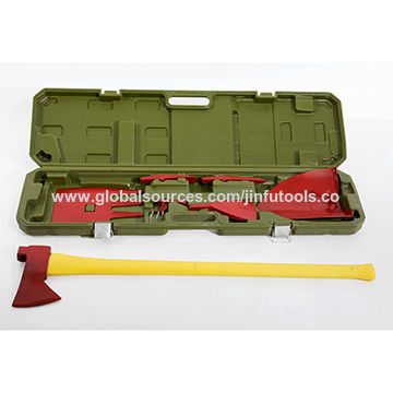 China Fire fighting axe mate tool kit, made from drop forged carbon