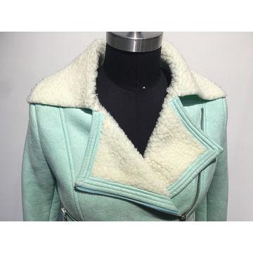 China Synthetic fur coat ladies' coat
