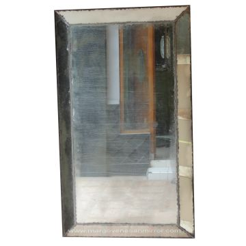 Antique Mirror Beveled Global
