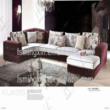 China 2013 New Designs Bamboo Lavender Divan Living Room Furniture Sofa