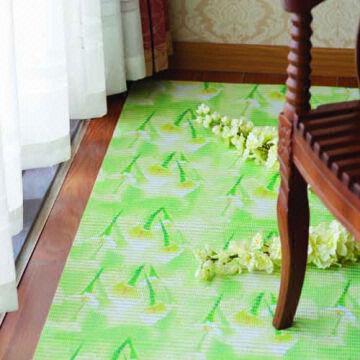 ... China Decorative Non Slip Pvc Plastic Carpet Roll Foamed Pvc Kitchen  Floor Mat