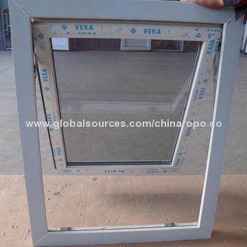 china ce u0026 as2047 upvc veka frame awning window double glass with blinds inside